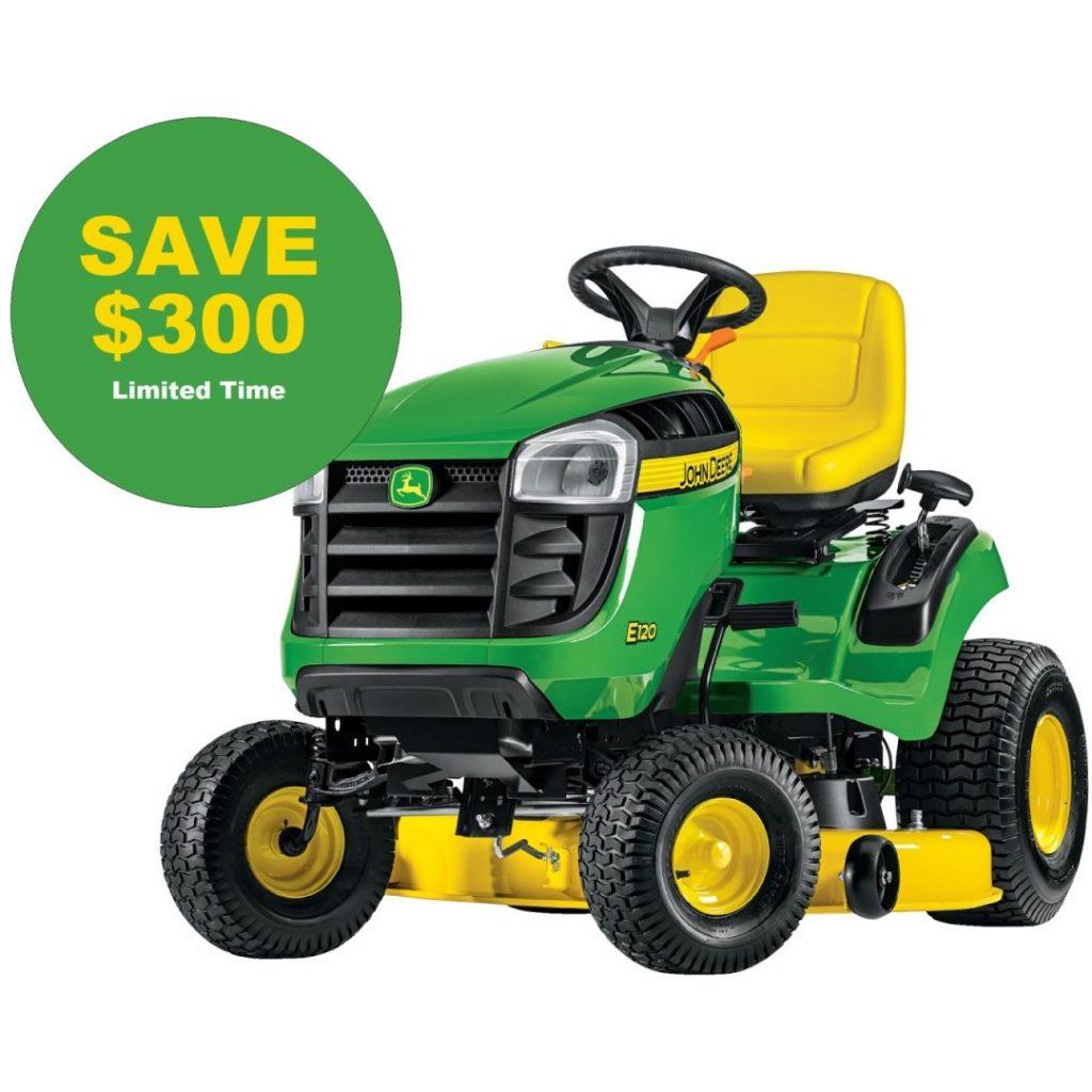 E Series Lawn Tractor Sale